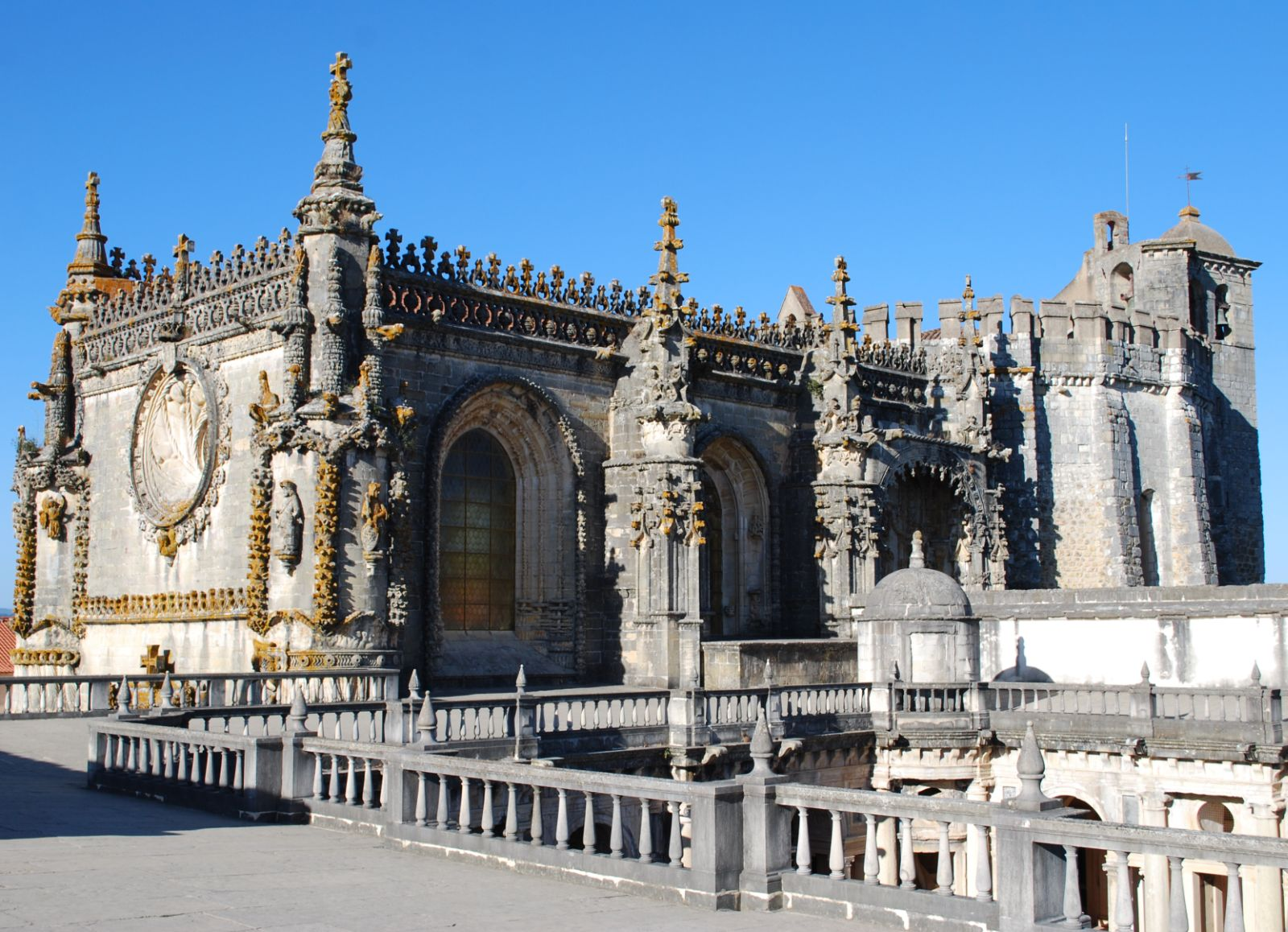Klooster Convento de Cristo in Tomar - Fly drive Midden Portugal